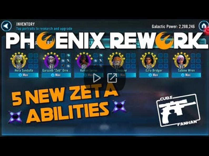 SWGoH - Phoenix Rework