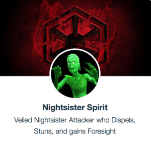 SWGoH - Nightsister Spirit