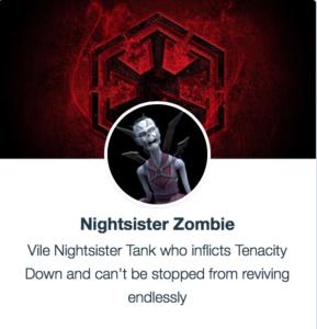 SWGoH - Nightsister Zombie