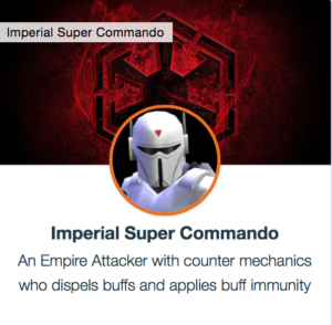 SWGoH - Imperial Super Commando