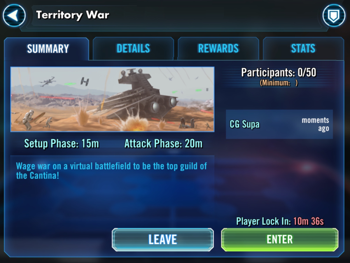 SWGoH - Territory Wars