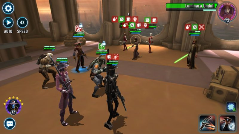 SWGoH Bounty Hunters