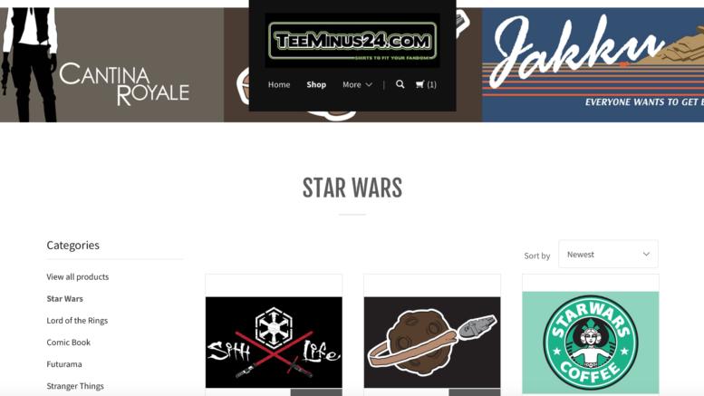 TeeMinus24.com Star Wars