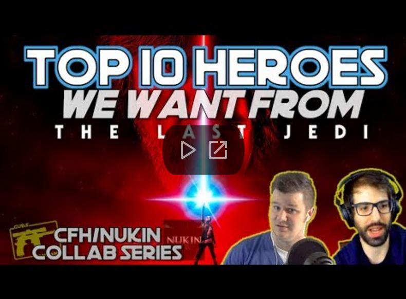 CubsFanHan & Nukin - The Last Jedi - SWGoH
