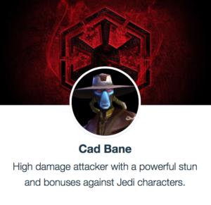 SWGoH - Cad Bane