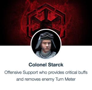 SWGoH - Colonel Starck