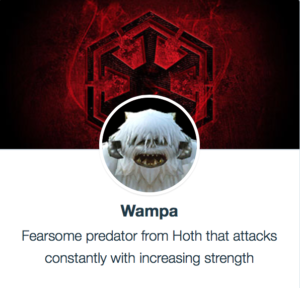 Todays Character Review Is For One Of The Most Powerful Characters In Game Hoth Monster Wampa His Shards Are Only Obtained Guild Events