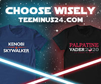 Star Wars tema tees