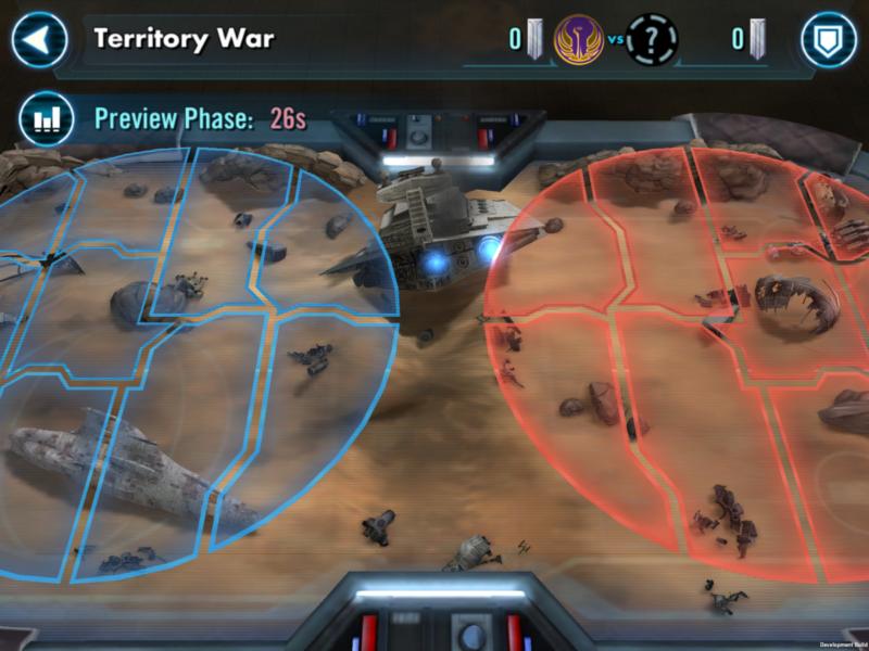 SWGoH - Luftërat e Territorit