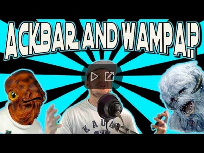 SWGoH - Ackbar & Wampa