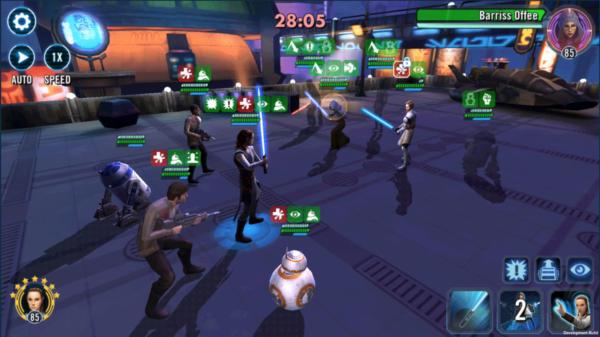 Rey Jedi trening - SWGoH