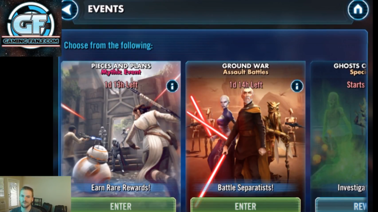 SWGoH: BB-8 Pieces & Plans Mythic Event Video Walkthrough | Gaming