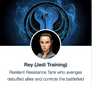 SWGoH - Rey Jedi Training