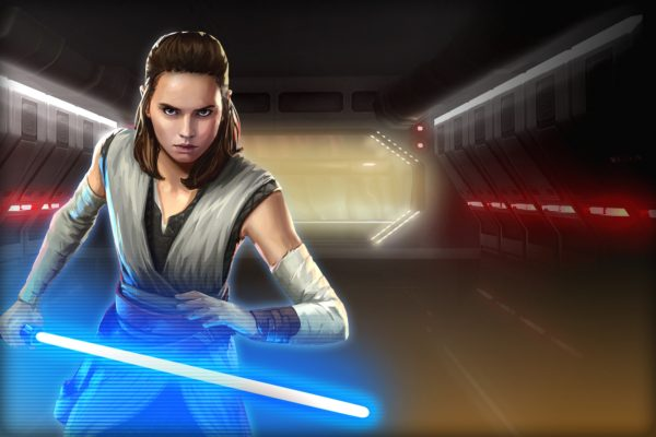 Rey Jedi Training - SWGoH
