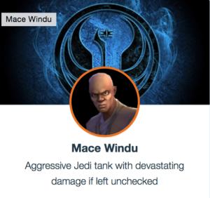 Mace Windu - SWGoH