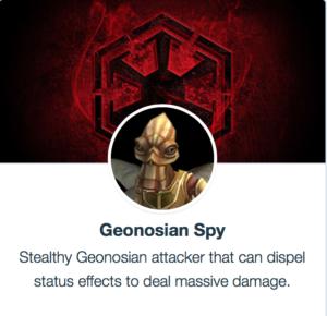 SWGoH - Geonosian Spy