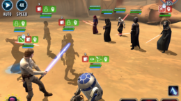 SWGoH - Darth Sion vs Visioon Marr