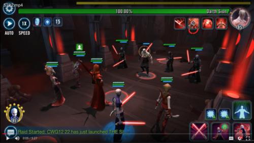 Sith Triumvirate Raid - SWGoH