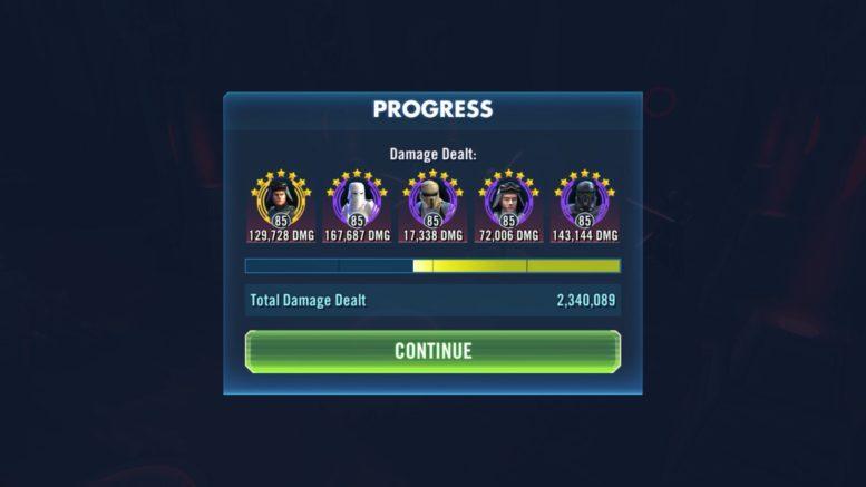 SWGoH - Imperial Troopers - 2 fazė - STR