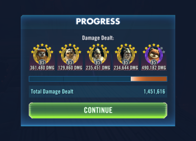 Ewoky v Sith Raid - SWGoH