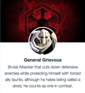 General Grievous SWGoH