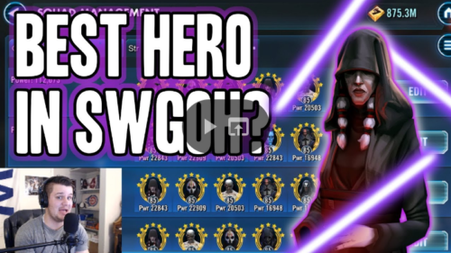 SWGoH - Darth Traya