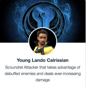 SWGoH - Young Lando Calrissian