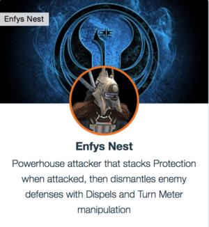 SWGoH - Enfys Nest
