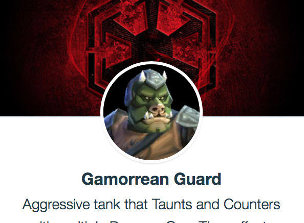 "SWGoH - ""Gamorrean Guard"""