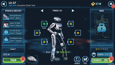 SWGoH - L3-37