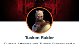 SWGoH  -  Tusken Raider
