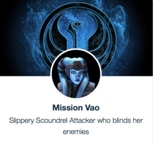 SWGoH - Mission Vao