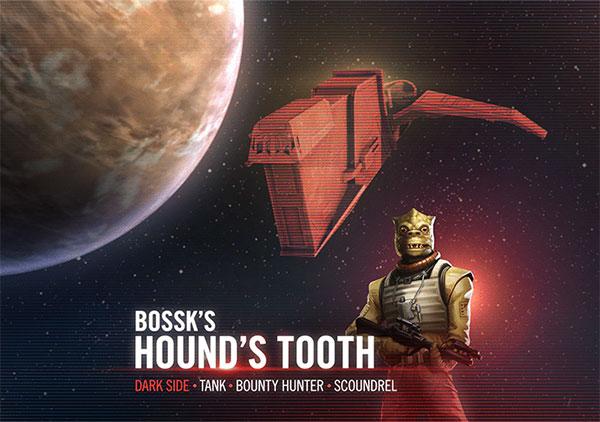 SWGoH - Bossk - Dhëmbët e Houndit