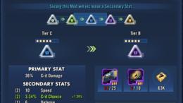 SWGoH - Mod Slicing