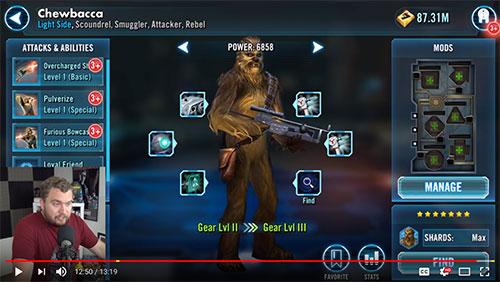 AhnaldT101 - Chewbacca - SWGoH
