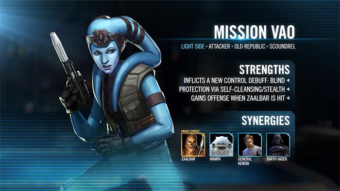 Mission Vao - SWGoH