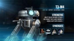 T3-M4 - SWGoH & KOTOR