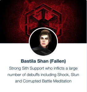 Bastila Shan Dark Side - SWGoH