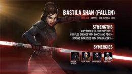 SWGoH - Bastilla Shan Fallen