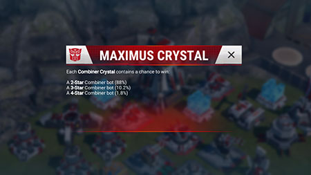 TFEW Maximus Crystal Odds