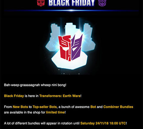 TFEW Black Friday 2018
