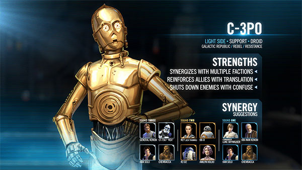 SWGoH - C-3PO