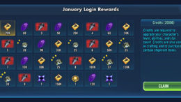 SWGoH - January Login