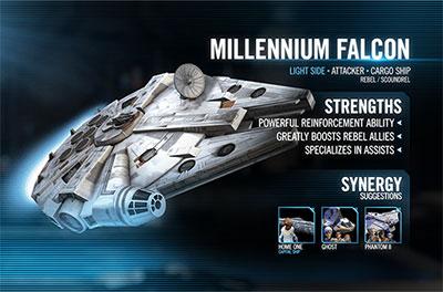 SWGoH - Han's Millennium Falcon