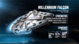 SWGoH - Han Millennium Falcon