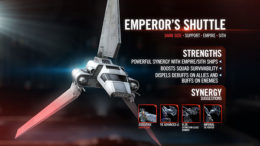 SWGoH - Shuttle dell'Imperatore