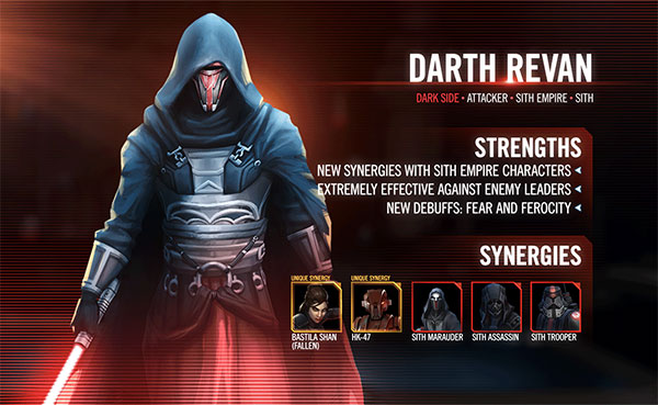 Darth Revan  -  SWGoH