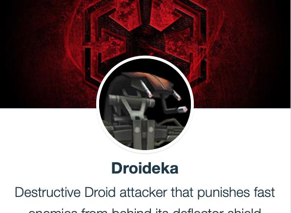 SWGoH - Droideka