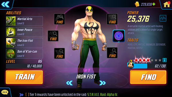 Iron Fist - MSF