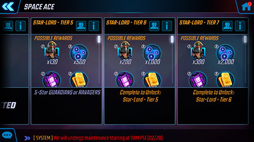 MSF - Star Lord Event